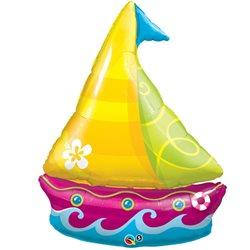 Balon Folie Figurina Barca Tropicala, 102 cm, 35368
