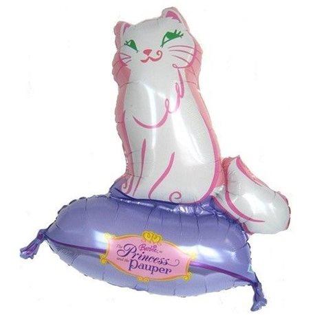Balon Folie Figurina Pisica Printesa Pauper, 64x81 cm, 10689