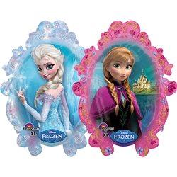 Balon Folie Figurina Anna si Elsa Frozen, 63x78 cm, 28162