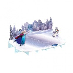 Suport tort Frozen 50cm x 27cm, Amscan, 999265, 1 buc