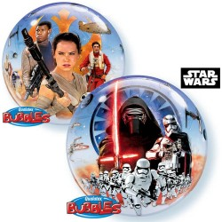 "Balon Bubble 22""/56cm Star Wars, Qualatex 21317"