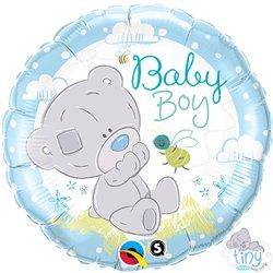 Balon folie 45cm Baby Boy -  Me to You, Qualatex 28172