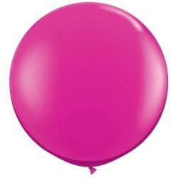 Balon Latex Jumbo 48 cm, Fuchsia 07, Gemar G150.07