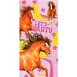 Poster decorativ pentru petrecere, Charming Horses, Amscan 551823, 1 buc