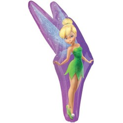 Tinker Bell Party SuperShape Foil Balloon, Amscam 29824