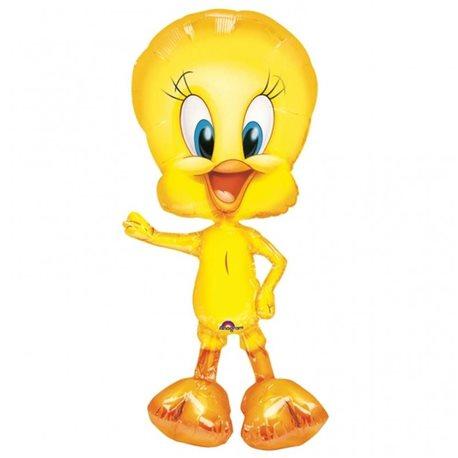 Balon Folie Figurina Airwalkers Tweety, 94 cm, 08343