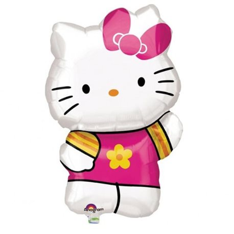 Balon Folie Figurina Hello Kitty, 41x63 cm, 27476