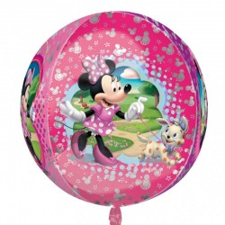 Balon folie Orbz sfera Minnie Mouse 38 x 40cm, 28394