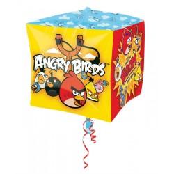 """Angry Birds Cubez Foil Balloon - 15""""/38cm, Amscan 2846201"""