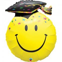 "Folie Figurina Smiley Face Absolvire 36"", 40379"