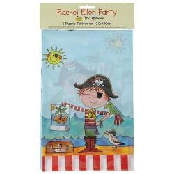 Fata de masa din plastic pentru petrecere copii - Pirati, 180 x 120 cm, Qualatex 50884, 1 buc
