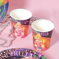 Pahare carton cu Cenusareasa pentru petrecere copii, 290 ml, Radar 61289, Set 10 buc