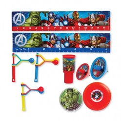 Jucarii party Avengers, Amscan RM393375-55, Set 48 piese