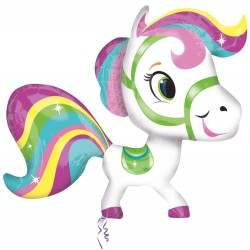 Balon folie figurina Little Pony 71x68cm, Amscan 26467