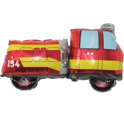 Balon folie figurina Masina de Pompieri, Amscan 29826