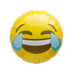 Balon folie 45cm EMOJI Rade cu Lacrimi, Northstar Balloon 01272