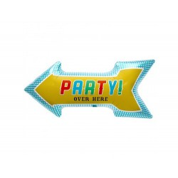 """Party! Over Here 91 cm / 36"""", Northstar Balloons 00405"""