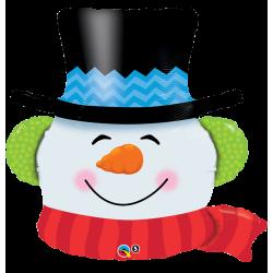 Balon Folie Mini-Figurina Cap Om de Zapada