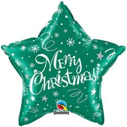 Folie 51 cm Merry Christmas, Qualatex 99810
