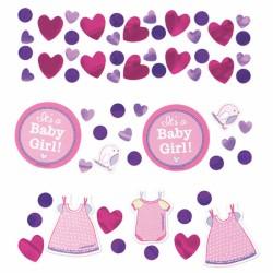 "Confeti "" It's a Baby girl"", Amscan 341489"