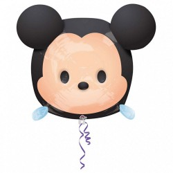 Balon Folie Figurina Mickey, 30 X 48 cm, Amscan 34110