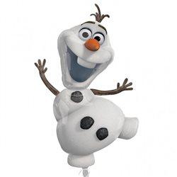 "Balon Folie Figurina ""Olaf"" Frozen, 58x104 cm, 28316"