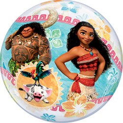 "Vaiana Bubble Balloon - 22""/56cm, Qualatex 49078"