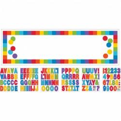 Banner decorativ pentru petrecere - 1.65 m, Happy Birthday, Amscan 120179, 1 buc