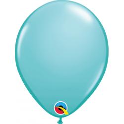 Balon Latex Caribbean Blue, 5 inch (13 cm), Qualatex 50319, Set 100 buc