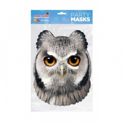 Masca Party Bufnita - 25 X 21 cm, Radar OWL0001