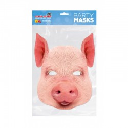 Masca Party Porcusor - 22 X 19 cm, Radar PIG0001