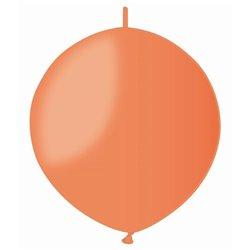 Baloane latex Cony 33 cm, Orange 04, Gemar GL13.04, set 100 buc