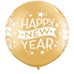 Balon Folie 45cm cu mesaje personalizate, Qualatex 28274