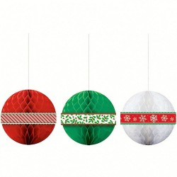 Accesorii foto party - Christmas, Amscan 395012, set 13 bucati