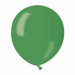Baloane latex sidefate 13 cm, Verde 37, Gemar AM50.37, set 100 buc