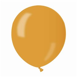 Baloane latex sidefate 13 cm, Auriu 39, Gemar AM50.39, set 100 buc