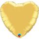 Balon mini folie inima auriu