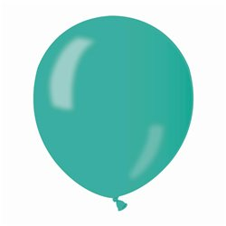 Baloane latex sidefate 13 cm, Verde 55, Gemar AM50.55, set 100 buc