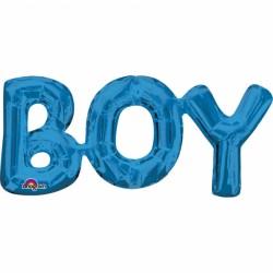 PACHET LITERE ''BOY'' - ALBASTRU 50 X 22 CM, Amscan 33098