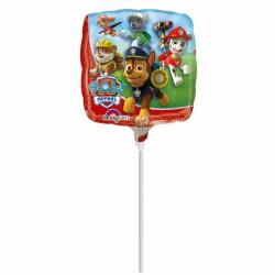 Balon mini folie Paw Patrol - 23 cm, Amscan 30184