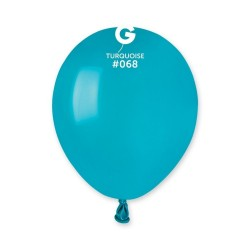 Baloane Latex 13 cm, Turquoise 68, Gemar A50.68