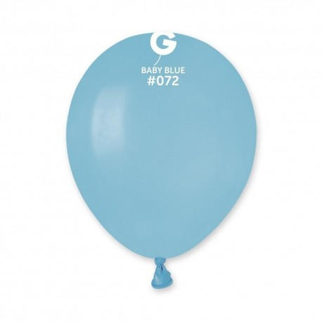 Baloane Latex 13 cm, Baby Blue 72, Gemar A50.72