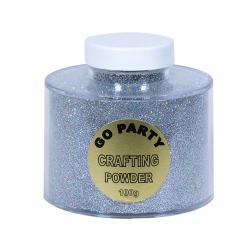 Pudra cu sclipici Auriu Pentru Baloane- 60 gr, Qualatex 82492