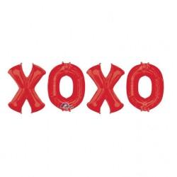 Pachet baloane folie XOXO - Amscan 32274