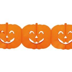 Ghirlanda dovleci Halloween - 4 m x 18 cm, Radar 54392