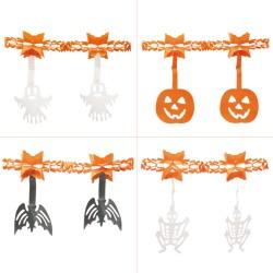 Ghirlanda decorativa Halloween - 2,20 m, Radar 54519, set 4 buc