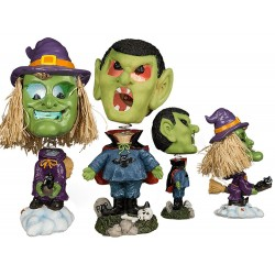 Figurina haioasa cu led Halloween - ca. 17 cm, Radar 190090, diverse modele