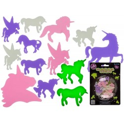 Unicorni decorativi fluorescenti - Radar 90/1056, set 14 buc