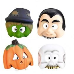 Masca copii pentru petrecere Halloween - Amscan 998382, set 4 buc