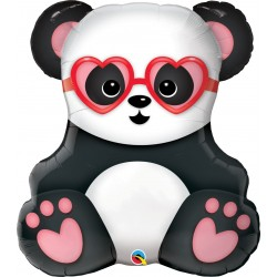 Balon Folie Figurina Urs Panda - 81 cm, Qualatex 54882
